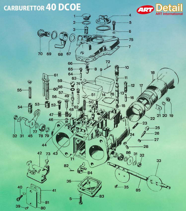 WEBER  40//45 DCOE  INSPECTION  COVER BRAND NEW